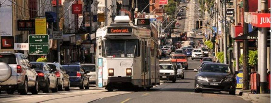 Tram, Burke Road